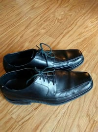 Rockport Black Leather Dress Shoes size 11 Cocoa, 32922