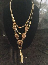 silver chain necklace with pendant Abilene, 79605