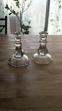 Glass candle holders  Pahrump, 89060