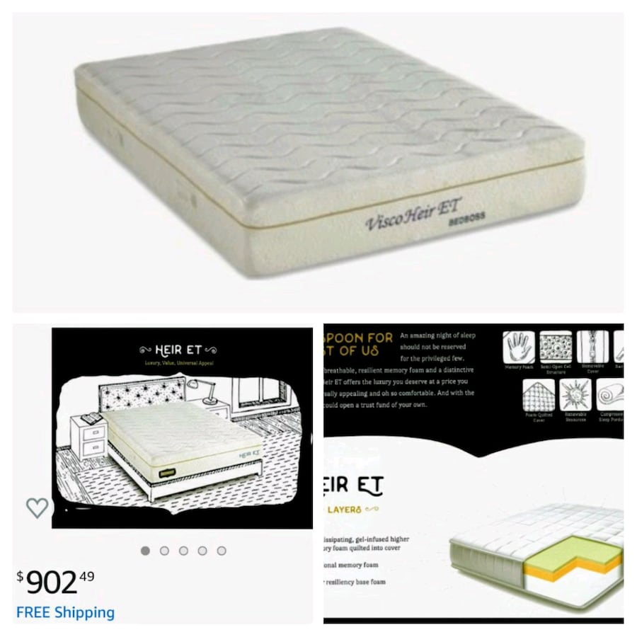 Brand-New-Luxury Plush Cal King Mattress Delivered