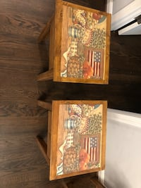Americana matching tables Fairfax Station, 22039
