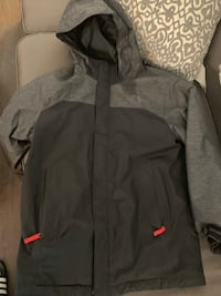 Boys 14/16 triclimate north face coat