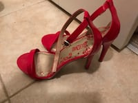 Red high heeled shoes Falls Church, 22043