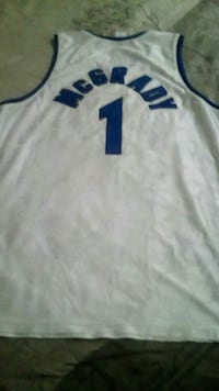 Tracy McGrady 1 Orlando Magic jersey top