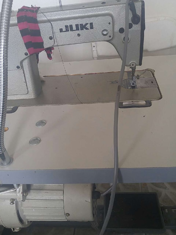 Used juki grey and red sewing machine for sale in Paterson letgo Enchanting Juki Sewing Machine For Sale