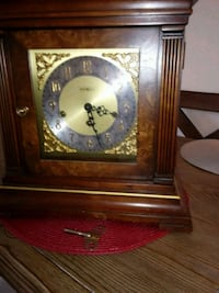 Table top grandfather clock