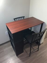 Pub table set with 2 chairs Hillsboro, 97124