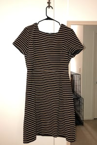 Black and Tan striped dress from Talbots - size 16 Arlington, 22201