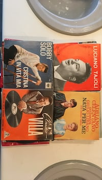 Italian & country  records Vaughan