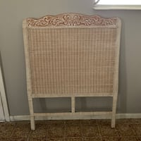 Wicker headboard - twin Miami, 33122