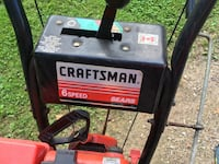 black and red Craftsman portable generator Guelph, N1E 2E7