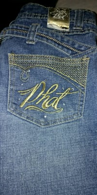 Baby phat size 14 jeans wore only once  Edmonton, T5L 2C2