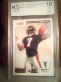 MICHAEL VICK - BCCG 2001 UPPER DECK VICTORY #374 - 10 MINT OR BETTER Bowie, 20715