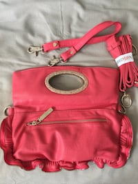 pink and brown leather crossbody bag Edmonton, T5T 4Y8