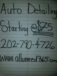 Car detailing Cheverly