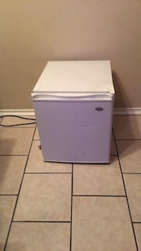 White and gray compact refrigerator Duncanville, 75137