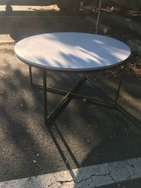 White and gold living room table / multipurpose table  Alexandria, 22306