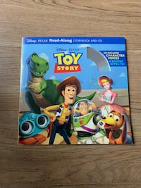 Toy story read along CD book