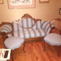 Antique Settee and 2 chairs Vaughan, L4K 3S4