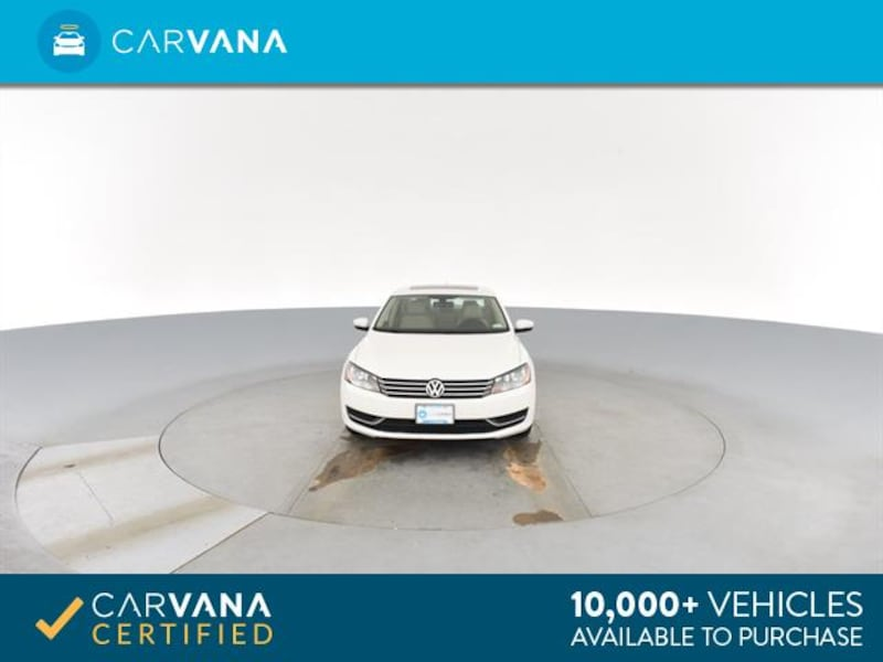 2013 VW Volkswagen Passat sedan 2.5L SE Sedan 4D White <br /> 18