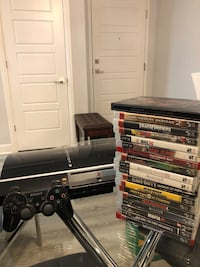 SONY PLAYSTATION 3 with GAMES Montréal, H9H 4B2