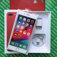 RED IPHONE 8 (plus) fr sale