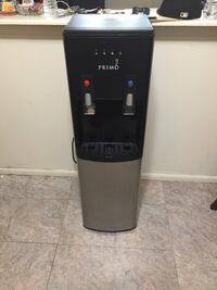 black and gray Primo water dispenser Elizabeth, 07201