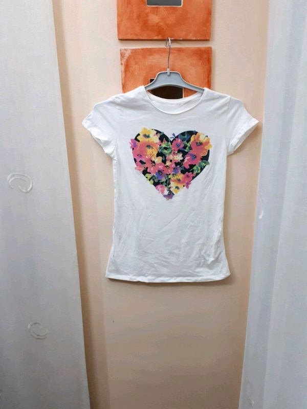 """Camiseta Floral T-S Strass """"OVS"""""""