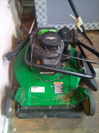 A lawn mower that works perfect