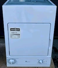 GE Stacking Electric Dryer, 12 month warranty