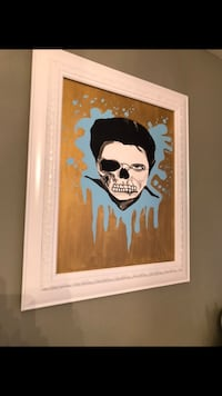 Skull art canvas painting  East Chicago, 46312