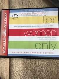 Audio book cd- for women only  Columbia, 21046