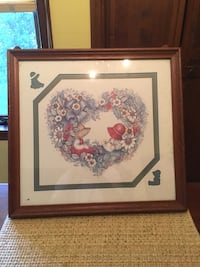 Framed Picture. Price Reduced to $2.00. Good Condition! Wilson, 18042