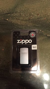 silver Zippo lighter Tahlequah