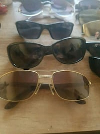 black framed Ray-Ban sunglasses Windsor