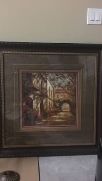 framed painting wall decor