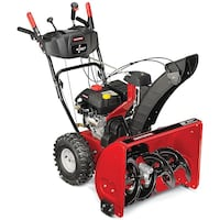 Hi end craftsman snowblower with 0° turn and to stage 26 inch capacity. Used one time a couple of years ago and stored since then. And like brand new condition! Must sell now!