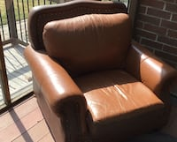 Single sofa chair and recliner with ottman