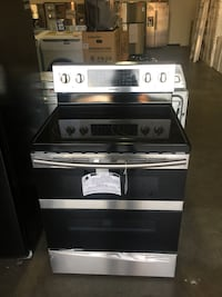 Samsung Stainless Double Oven Electric Range  2370 mi