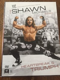The shawn michael's story dvd box set. $5.