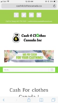 Cash4clothes and junk removal Vaughan