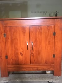 Solid wood stage cabinet Sparta, 07871