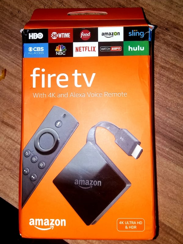 Amazon Fire Tv 4K and Alexa Voice Remote 398b91d9-571a-4a60-bb1e-6d95a0881647