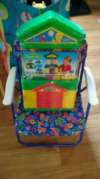 Kids new chair and blocks Crestline, 44827