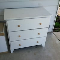 Sturdy white dresser chest of drawers Woodbridge, 22192