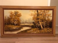 Lovely landscape oil painting for sale  Silver Spring, 20906