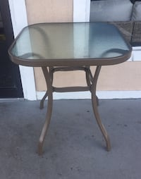 New Outdoor Bistro Table,Tan