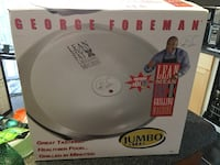 LNIB George Foreman Lean Mean Fat Grilling Machine (Jumbo Size) Prince George, V2N 6R8