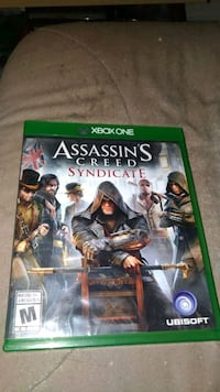 Assassin's Creed Syndicate Xbox One game case Gatineau, J8T 3V8