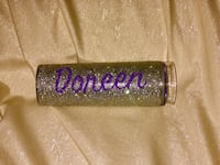 Glitter dipped Personalized Tumblers  New York, 10466
